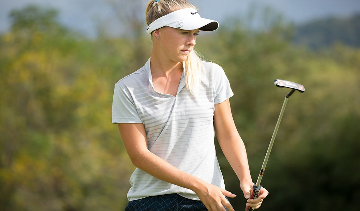 Melecka off to strong start at Golfweek Conference Challenge
