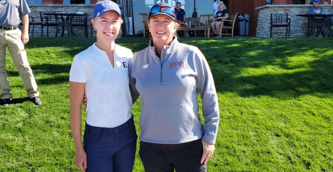 Melecka earns medalist honors at Ron Moore Intercollegiate
