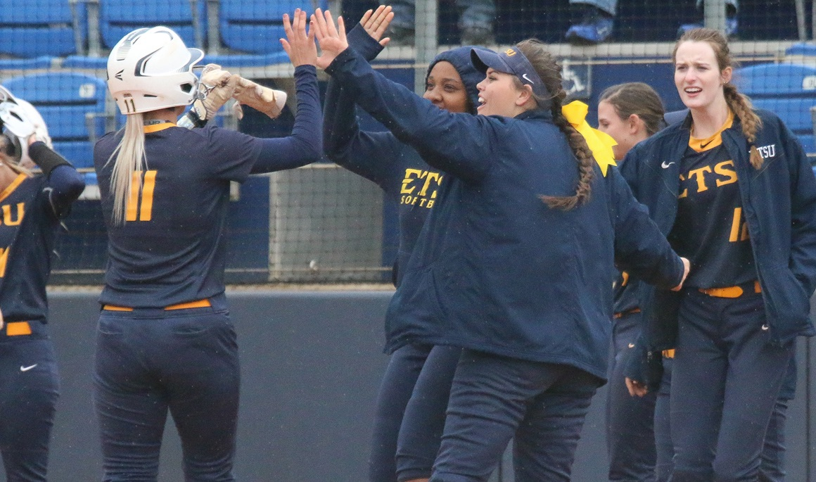 Bucs sweep past Radford at Betty Basler Field