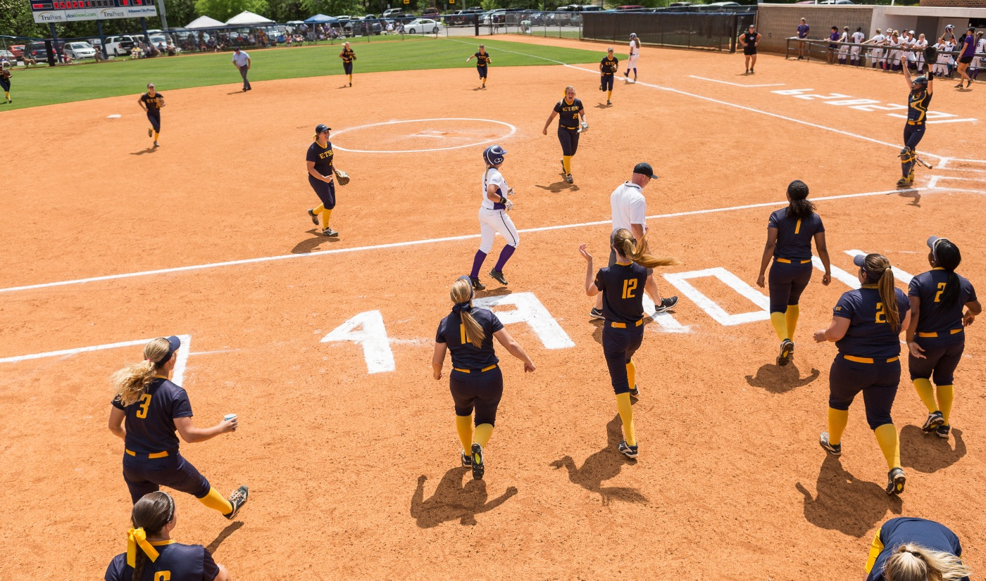 ETSU clinches series win over Furman, 8-5; Bucs move into first place on Senior Day