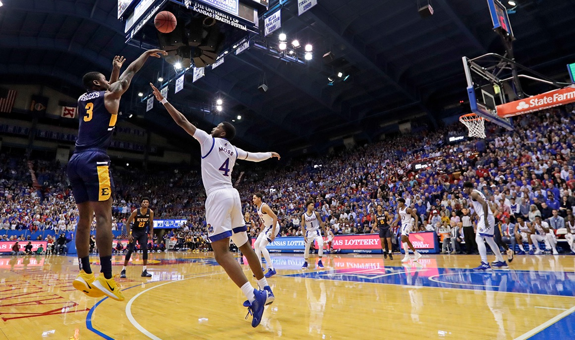 Bucs scare No. 4 Kansas in Lawrence