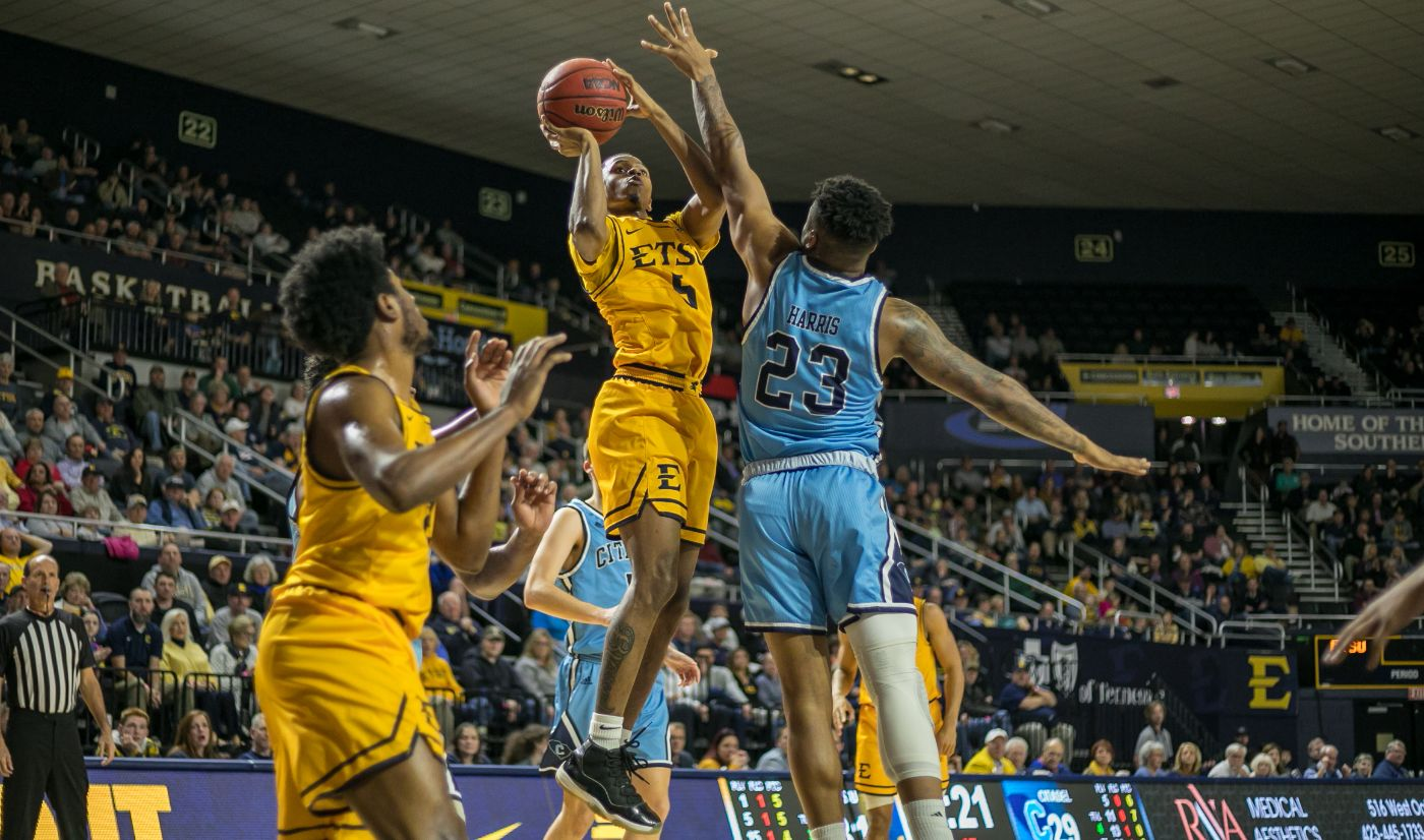 Strong second half lifts ETSU past The Citadel, 91-67