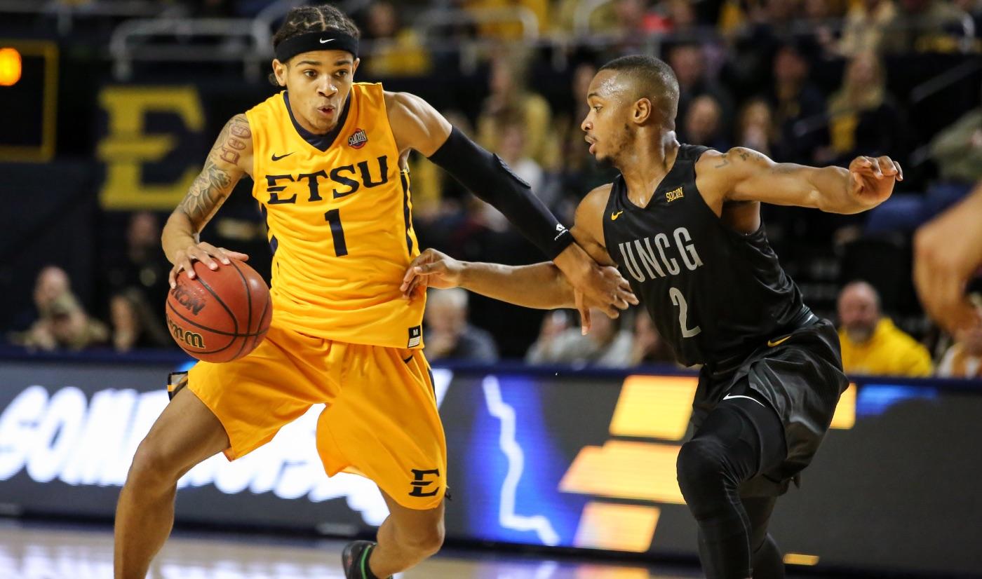ETSU has win streak snapped in 75-68 loss to UNCG