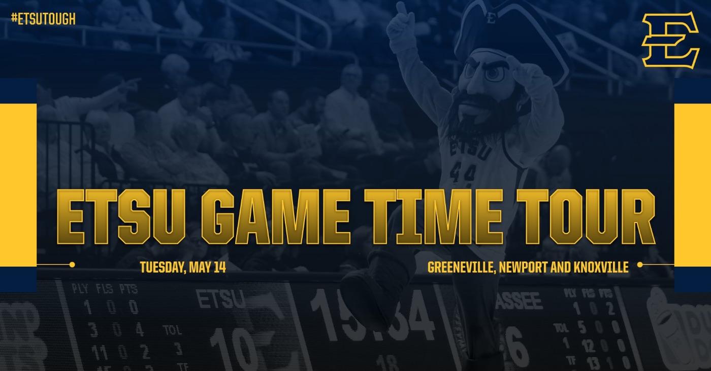 ETSU releases details regarding Game Time Tour events