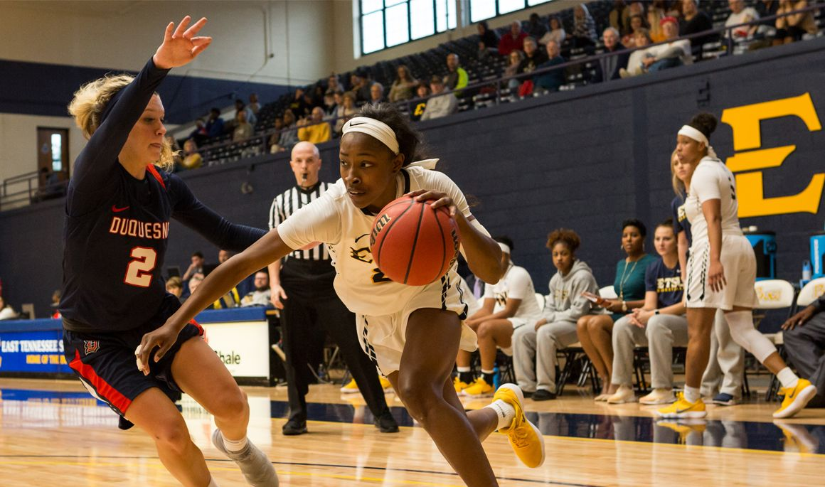 ETSU falls to No. 6 Notre Dame in opening day of Gulf Coast Showcase