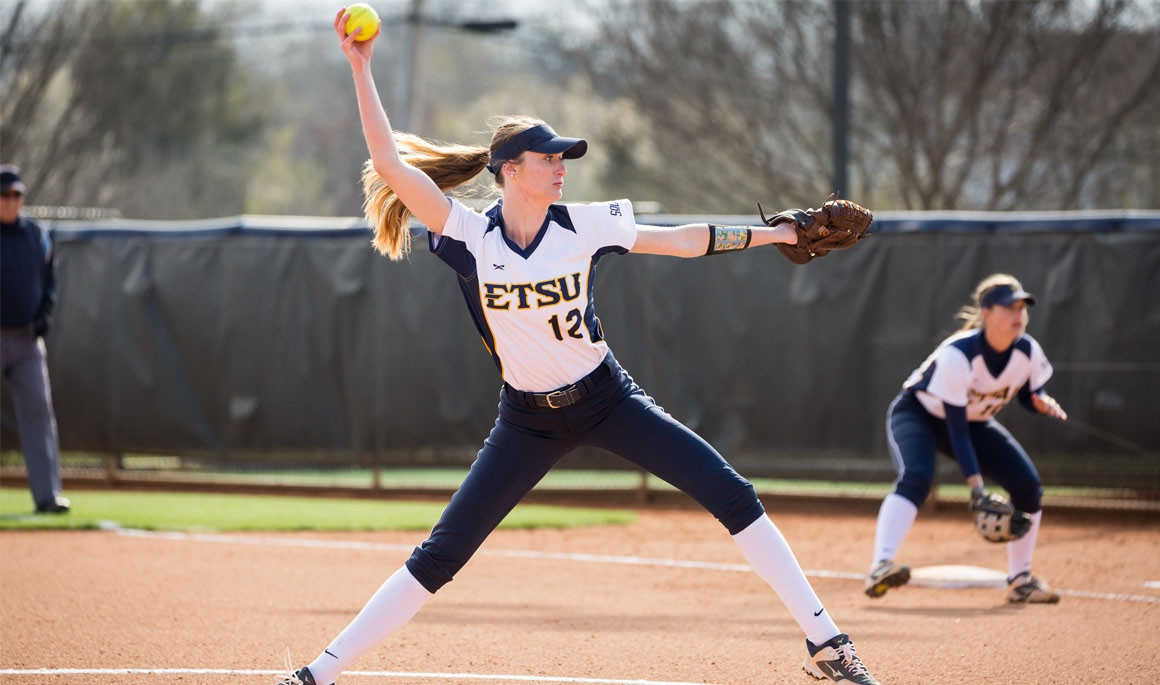 Schmidt tosses no-hitter; ETSU rolls on opening day of Buccaneer Classic