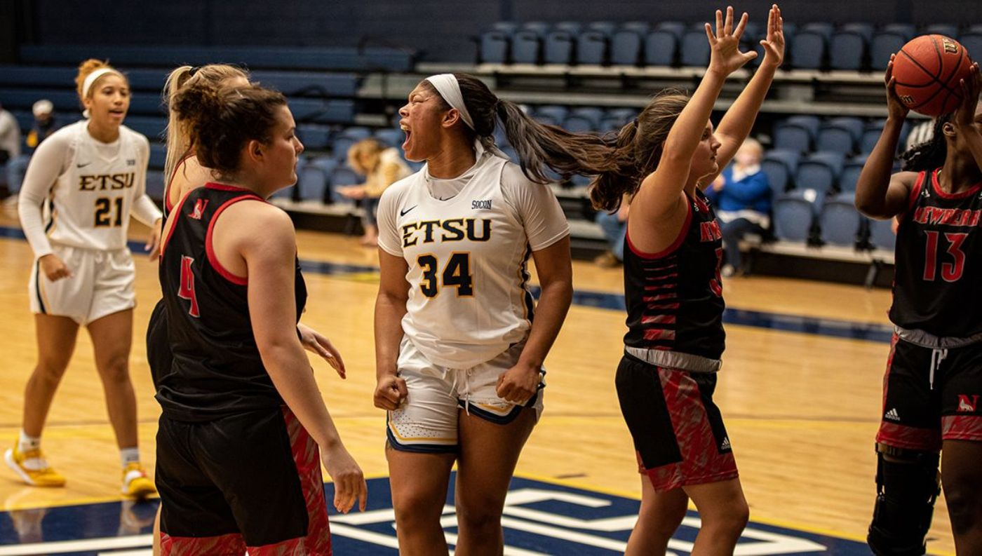 Dowdell's Career-Day Powers Bucs Past Newberry, 69-55