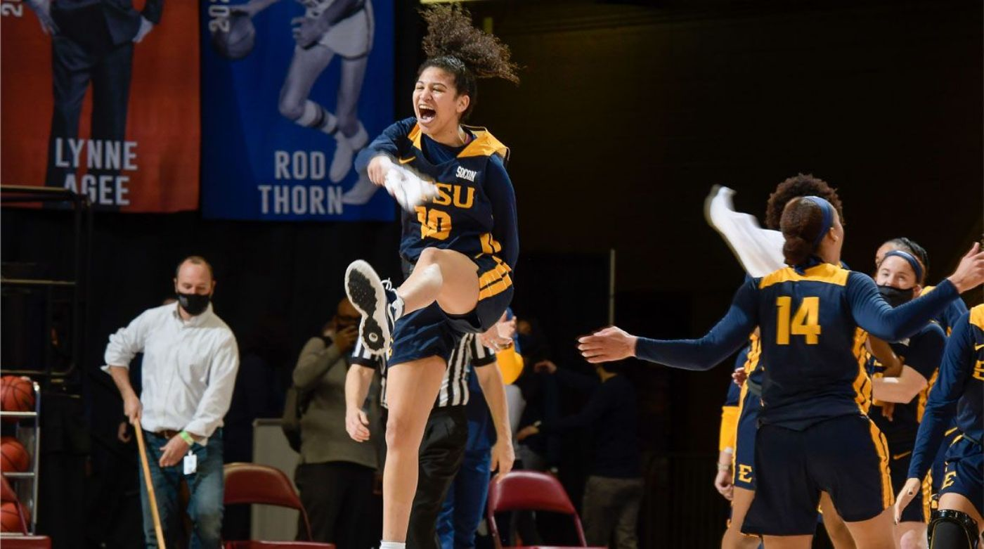 Bucs Topple Top-Seeded Bulldogs to Advance to SoCon Semis