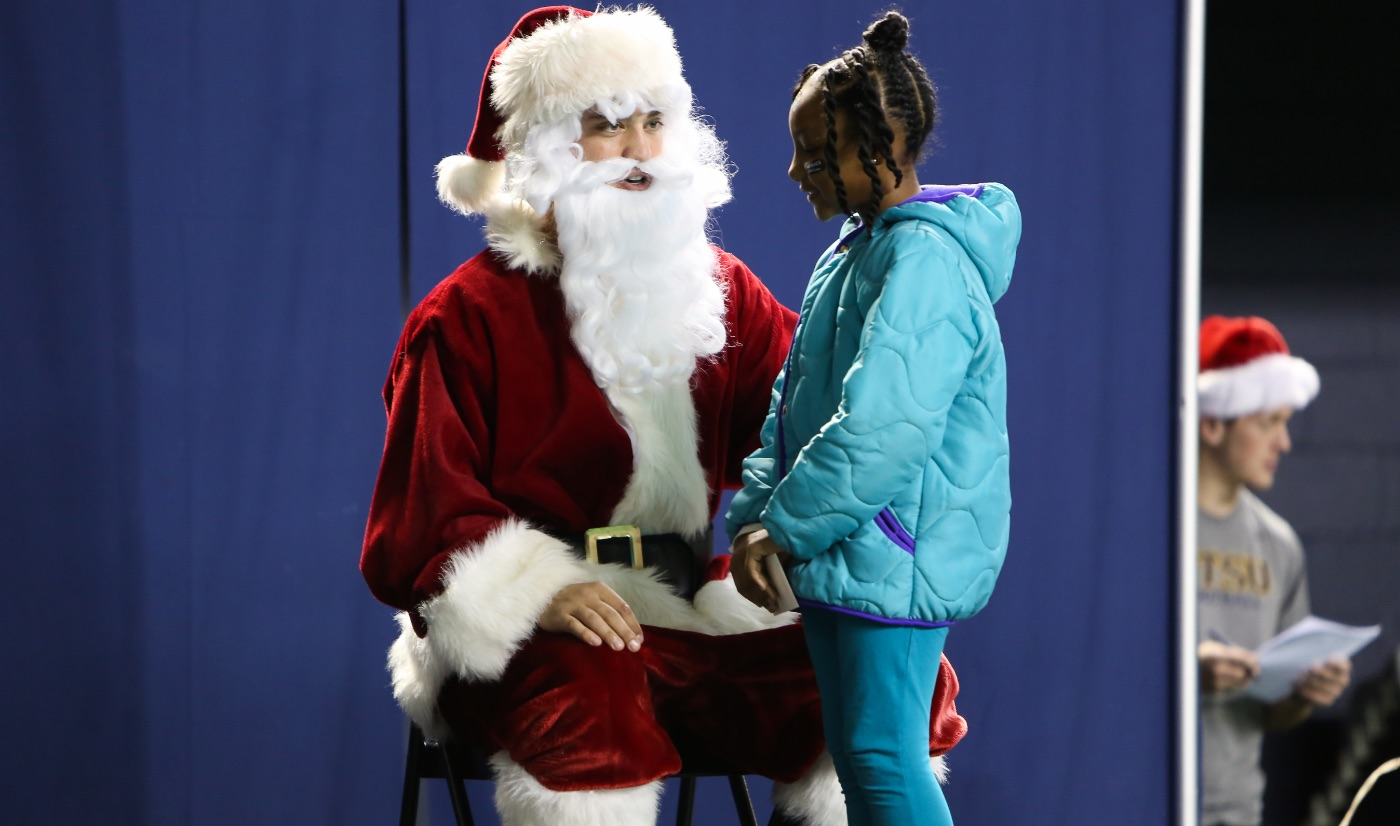 "ETSU Athletics hosts annual ""A Buccaneer Christmas"" event"