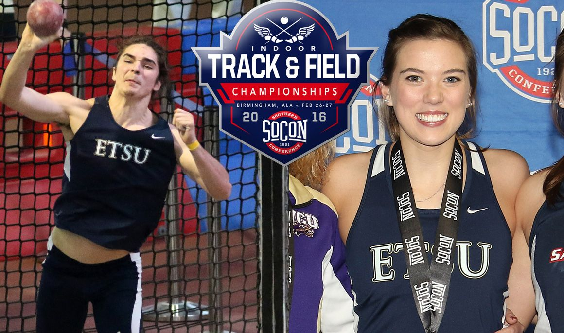 Women in third, Men in fourth after first day of SoCon Indoor Championships