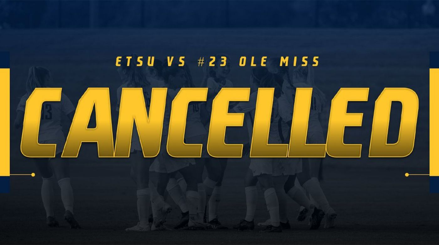 Bucs Road Match Against #23 Ole Miss Cancelled Due To Inclement Weather
