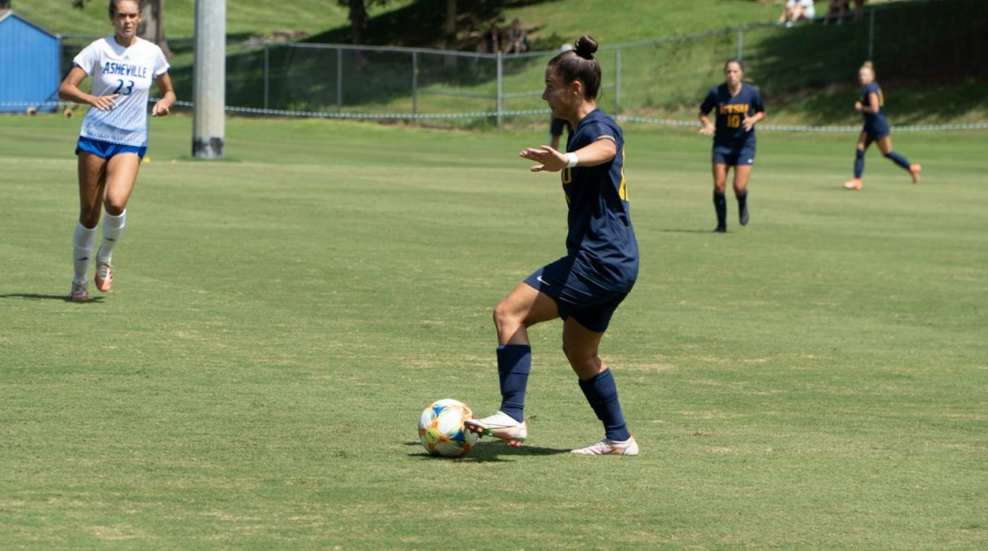 Bucs Grab Golden Goal in Victory Over Bulldogs