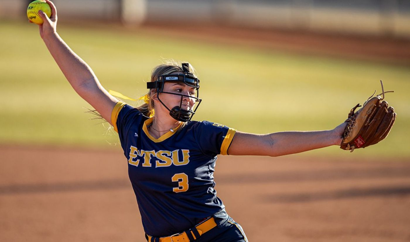 ETSU Splits Pitchers' Duel with Samford