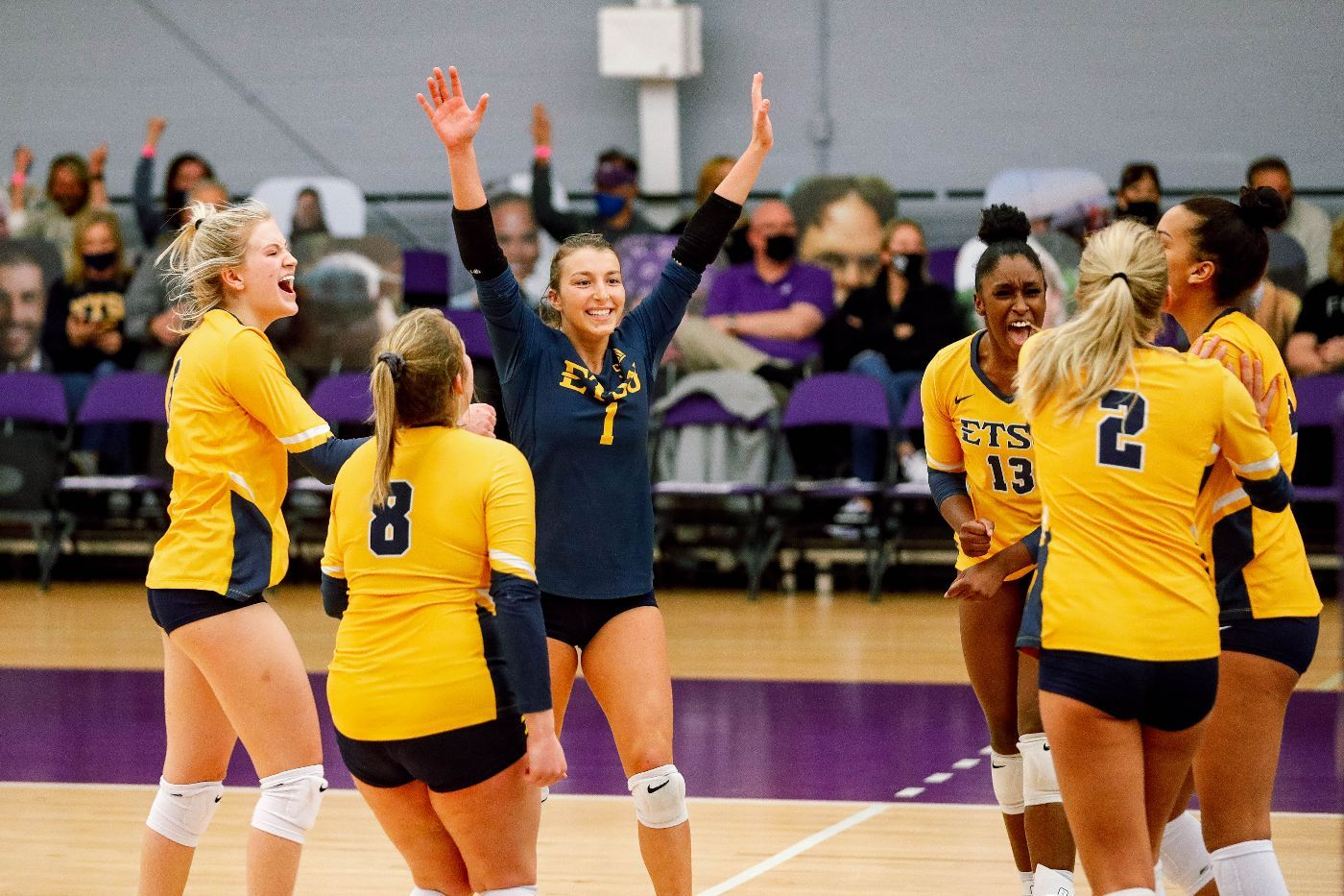 A Win Well Worth the Wait; Bucs Open 2021 with Win Over Paladins