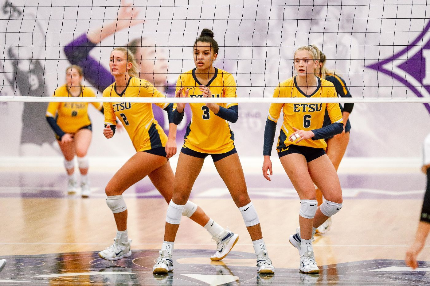 ETSU Hosts UNCG for Spring Volleyball Home Opener