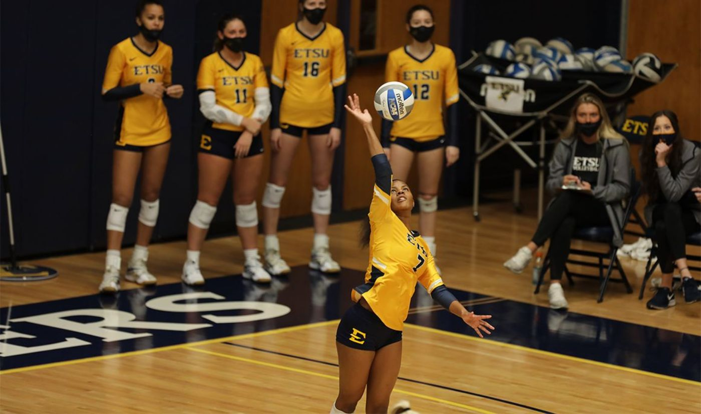ETSU volleyball suffers first loss of the season at Wofford