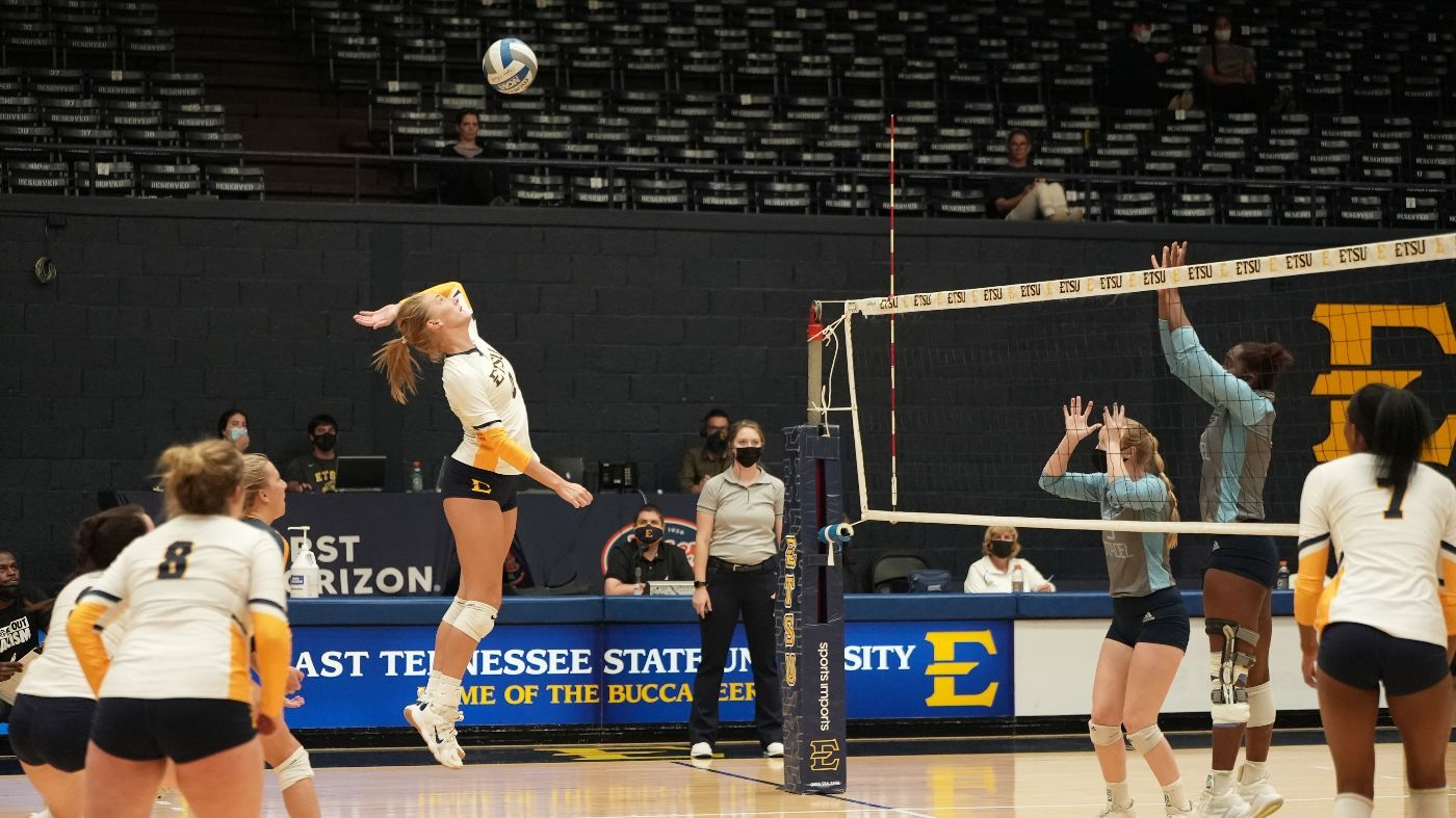 ETSU Falls in Five Sets to The Citadel