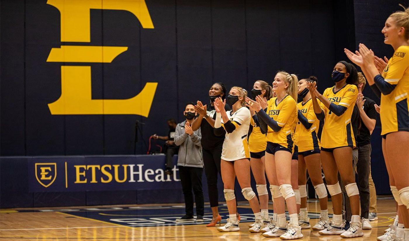 ETSU volleyball earns AVCA team academic honor