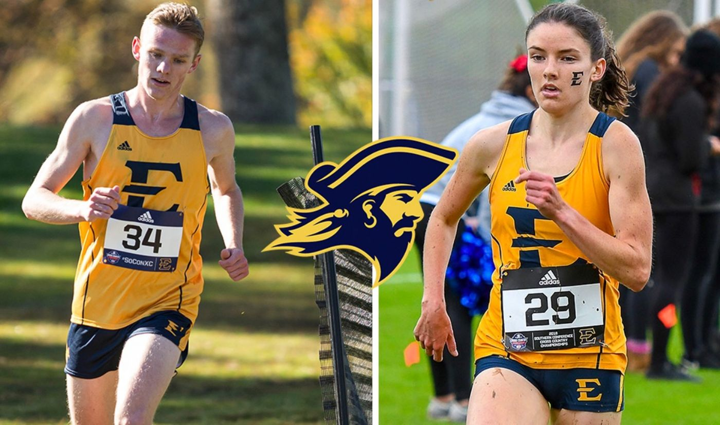 ETSU Cross Country sweeps field at Newberry Invitational