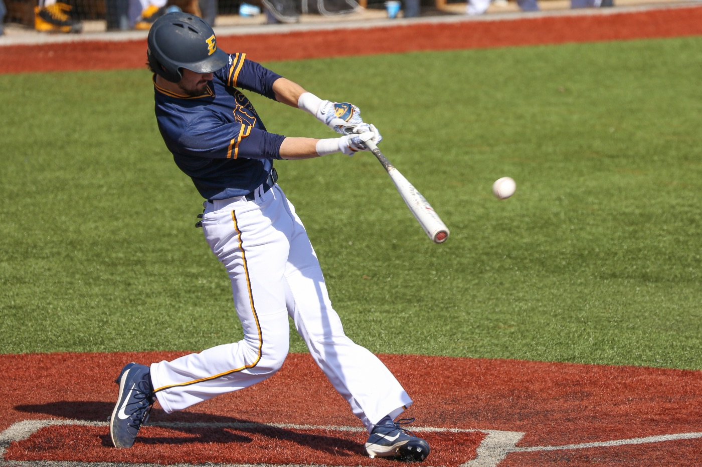 Bucs sweep Catamounts with 11-8 road win