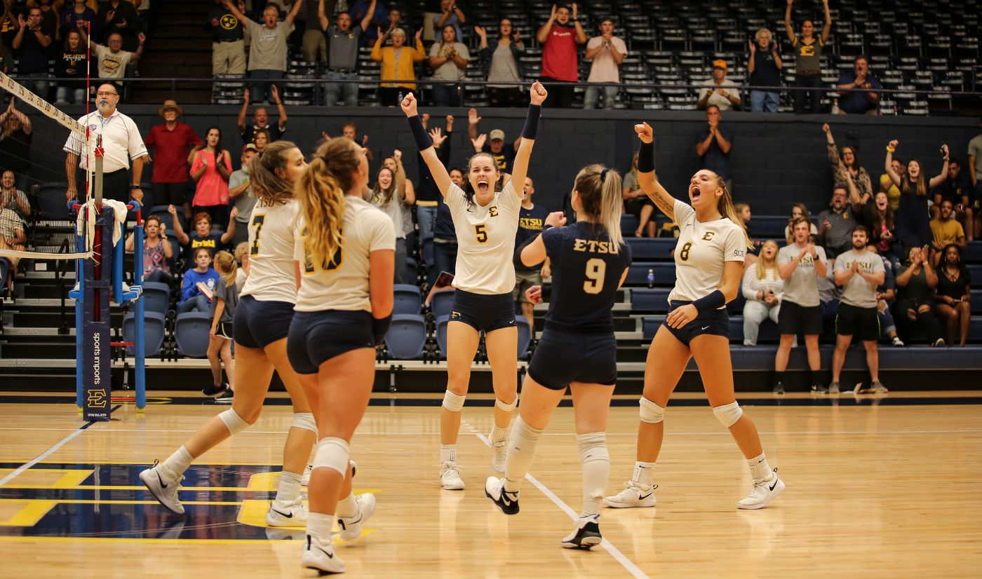 ETSU rolls past Wofford for third consecutive sweep