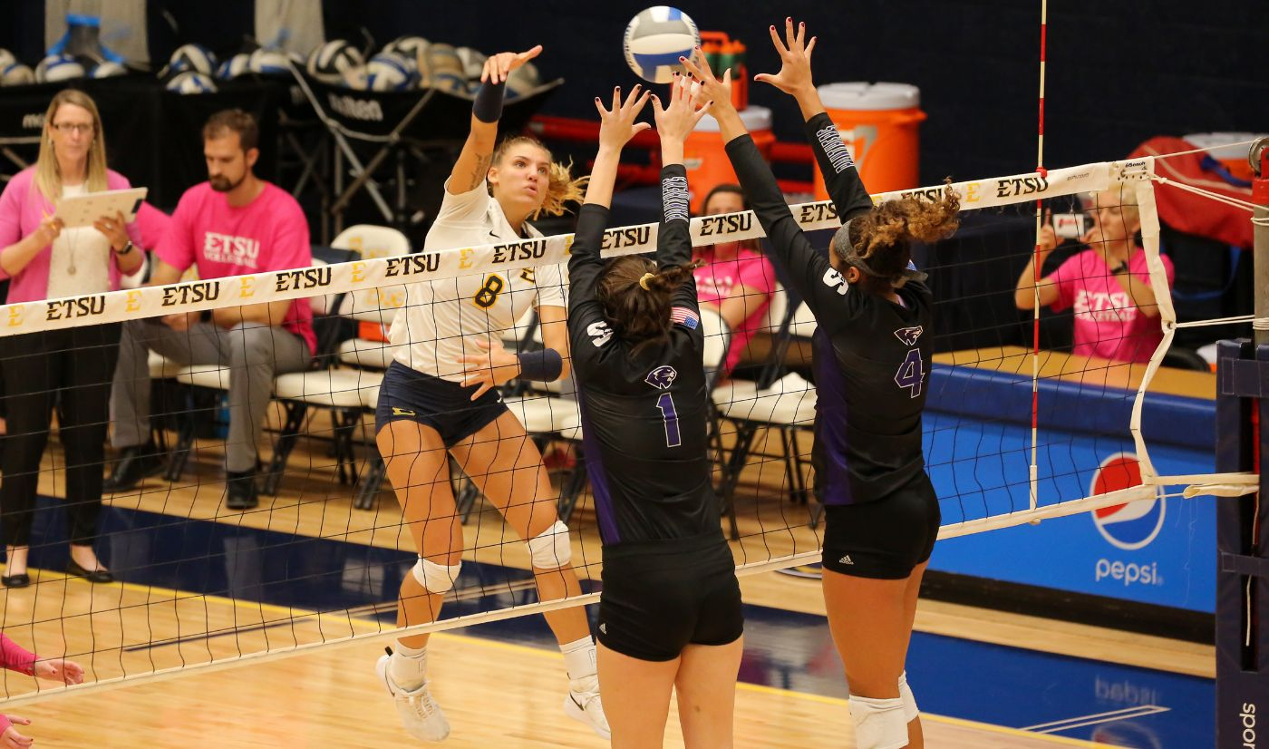 Bucs fall to High Point, 3-2: Clayton records 1,000 career kills
