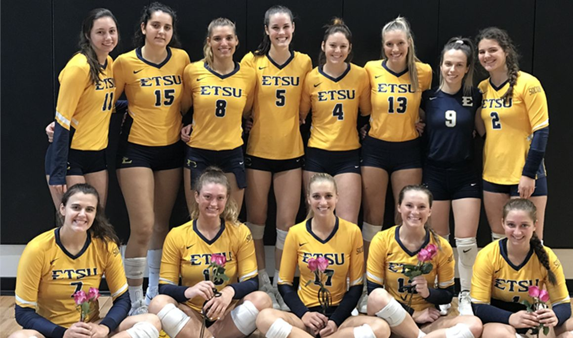 Etsubucs Com Volleyball Captures Socon Regular Season Title With Sweep Of Wofford