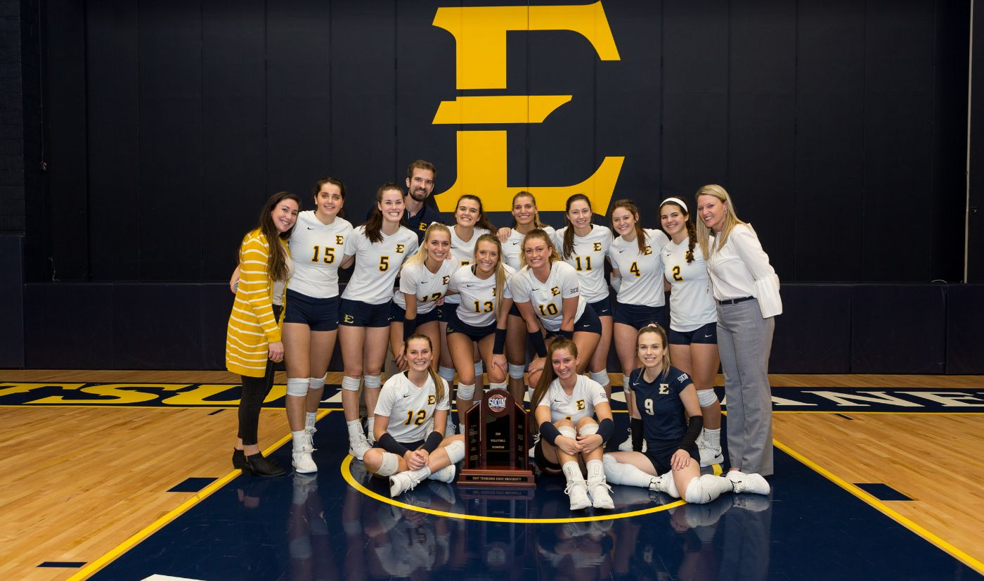 Lux registers 1,000 career kills in ETSU's sweep over The Citadel