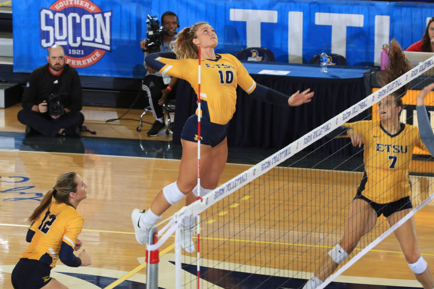 Bucs advance to semifinals after 3-0 sweep over The Citadel