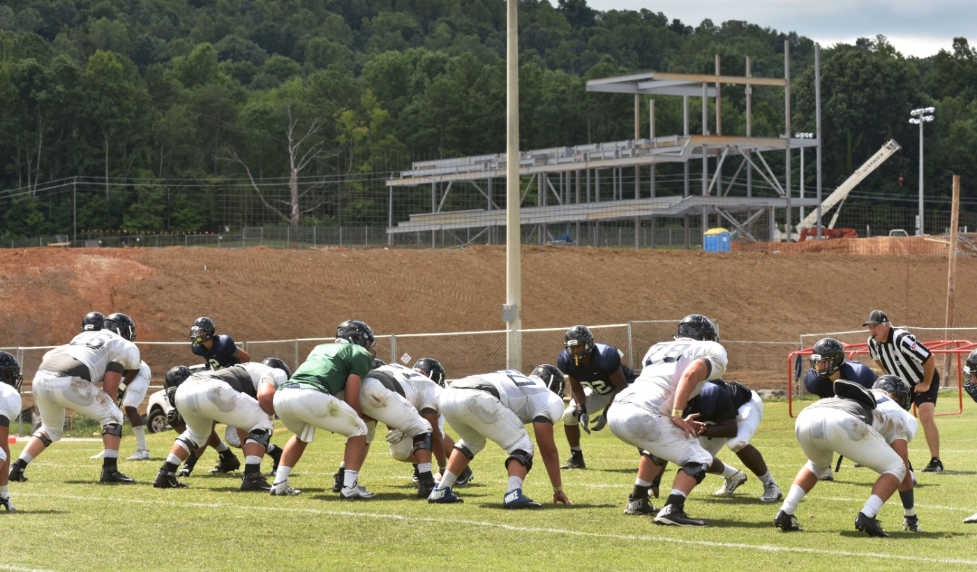 Bucs complete first fall camp scrimmage on Saturday