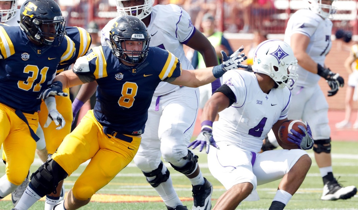 Bucs unable to stop Furman offensive surge, 52-7