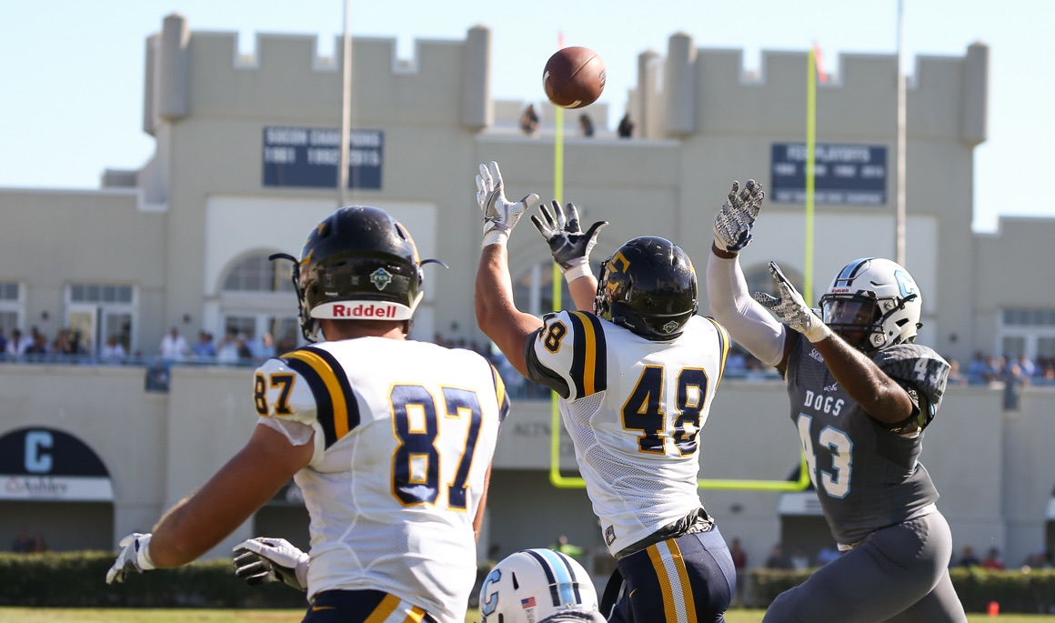 Bucs fall on the road to No. 5 Citadel, 45-10
