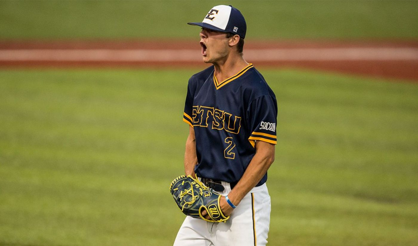 Tate's Quality Start Secures Bucs' SoCon Series Victory over Keydets