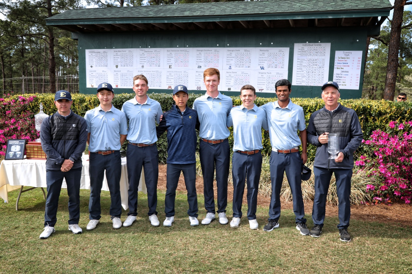 ETSU earns runner-up honor at Schenkel Invitational; Four Bucs finish in top-10