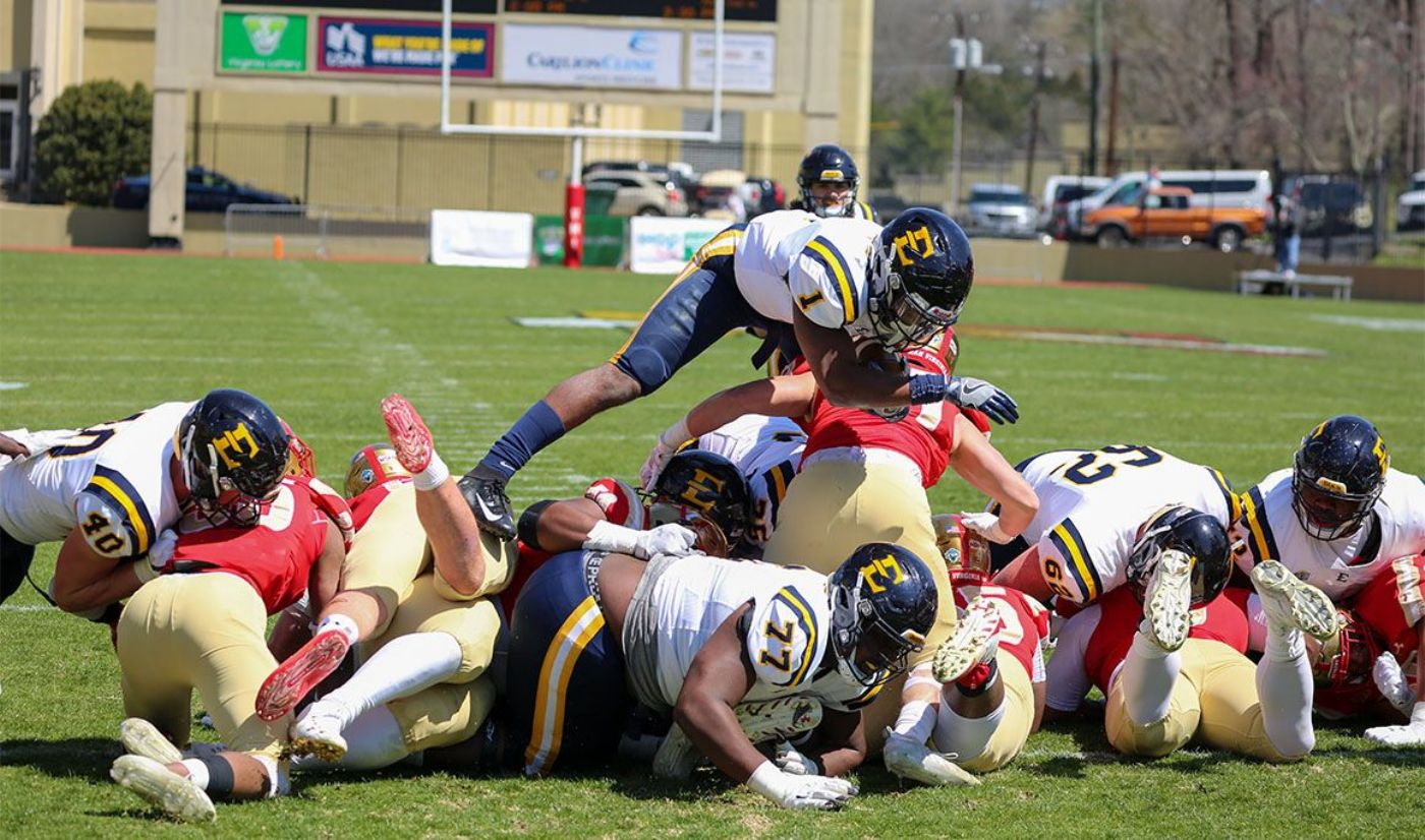 Bucs Silence Keydets in Marquee Win