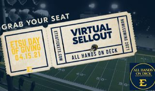 ETSU Day of Giving: Virtual Sellout