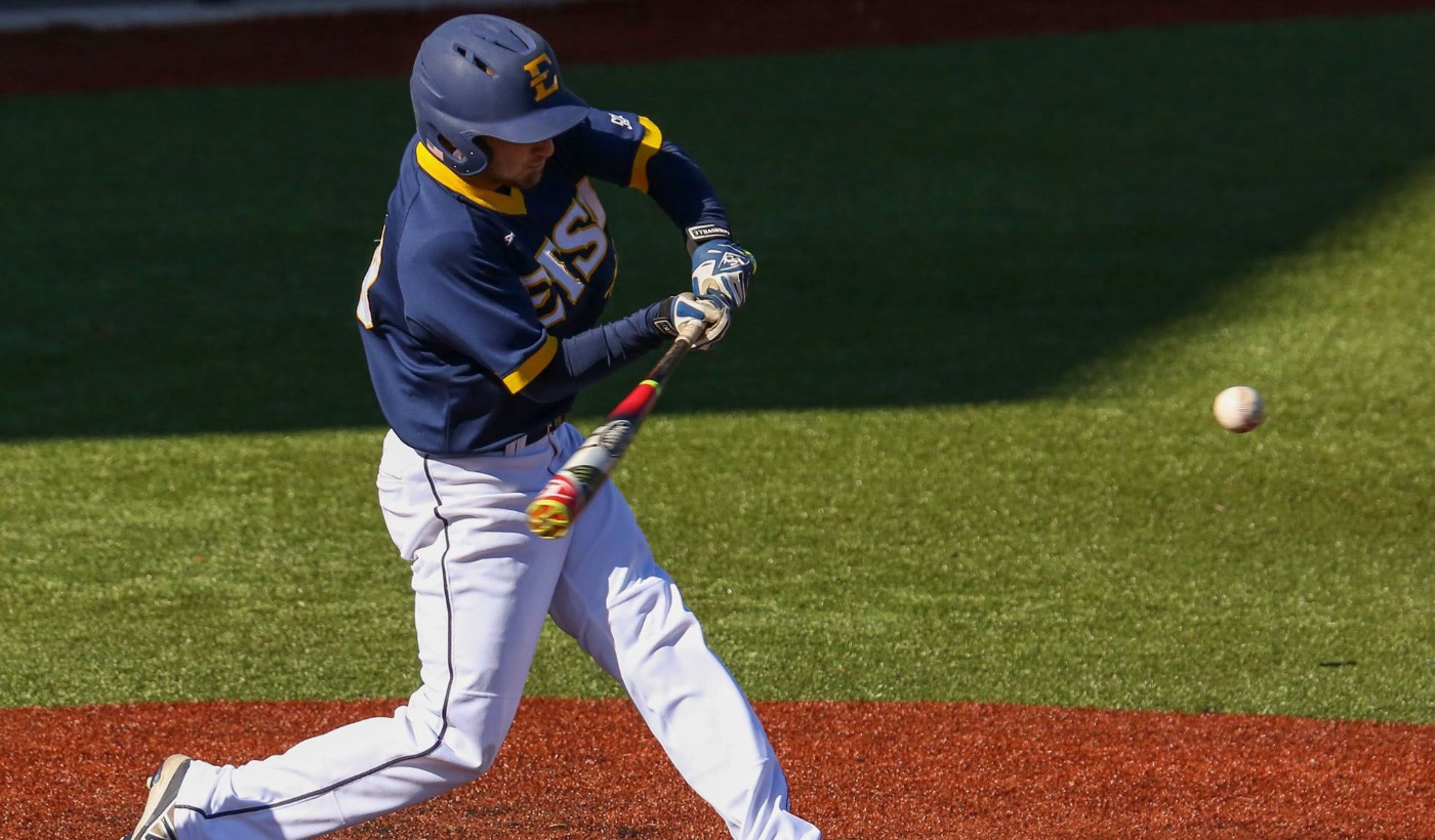 Bucs use long ball to rally past Samford, 12-9