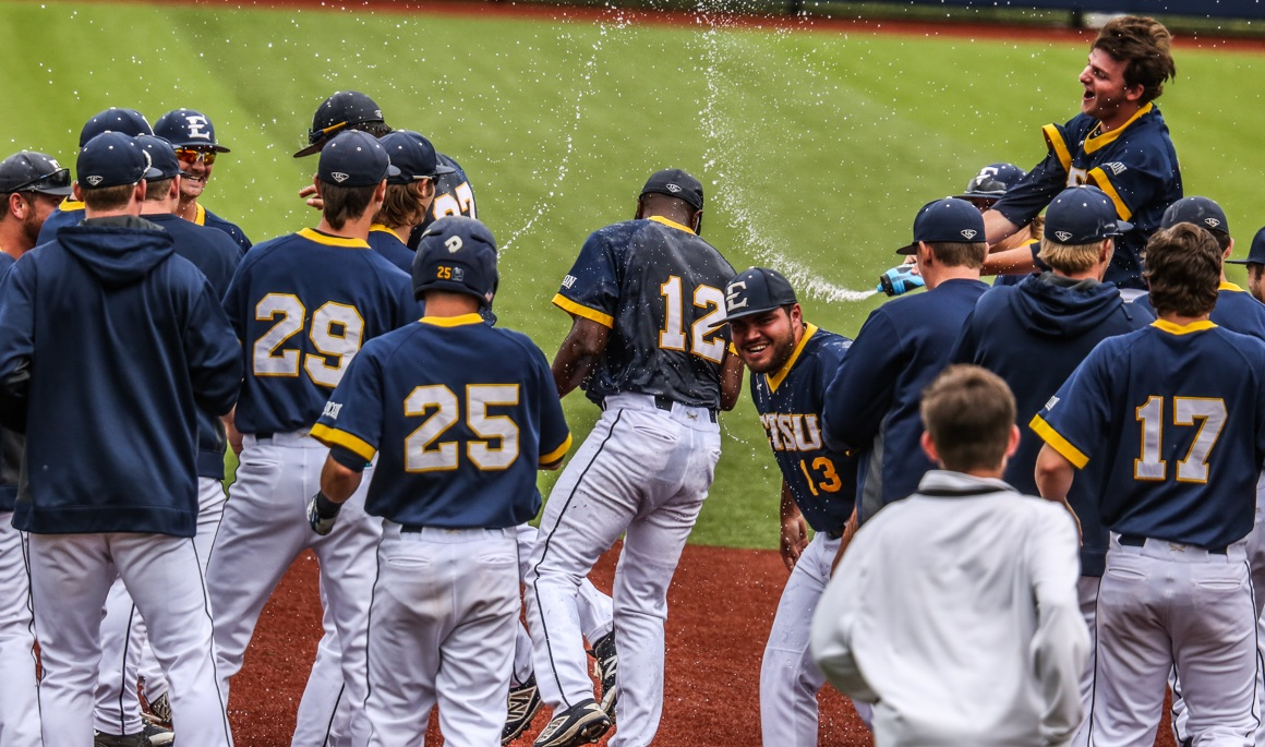 Phillips' walk-off single lifts ETSU to series win over The Citadel