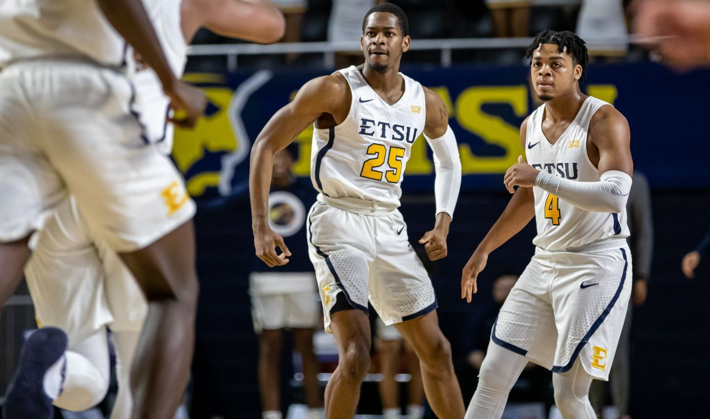 Brewer, Sloan carry ETSU to critical win over Wofford