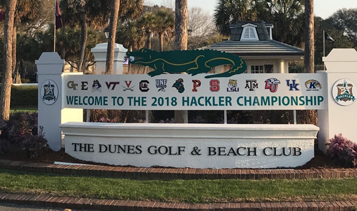 Bucs complete first two rounds at General Hackler Championship