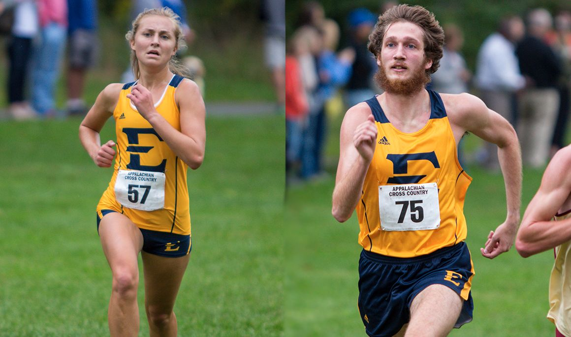 Cross Country records strong showing at Virginia Tech