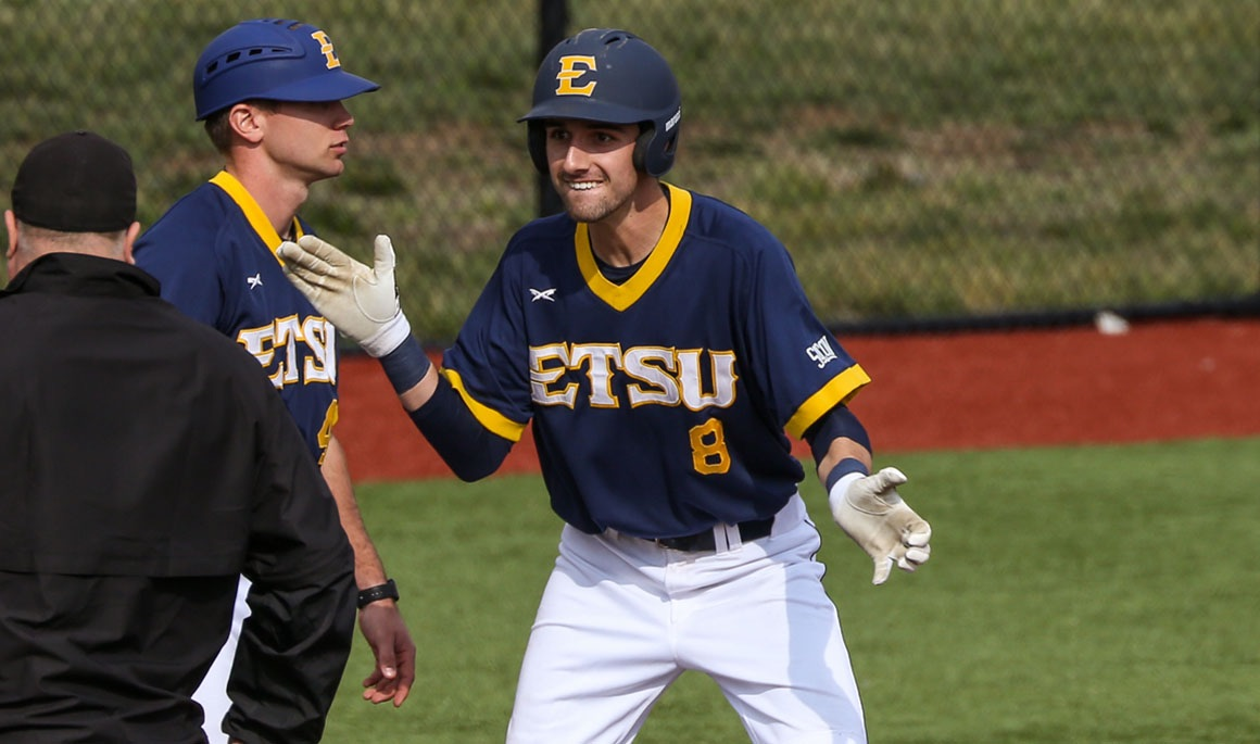 Bailey's late heroics give ETSU extra inning victory over Chippewas