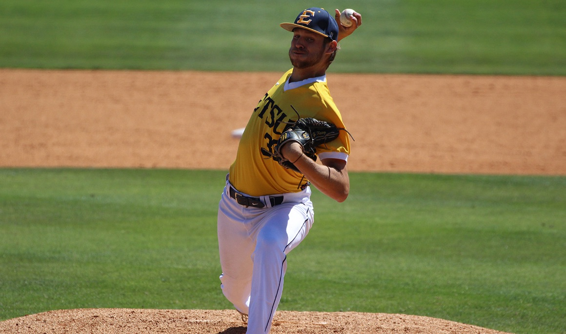 Krieg, Gentry combine for 13 strikeouts as Bucs fall 4-1 to The Citadel