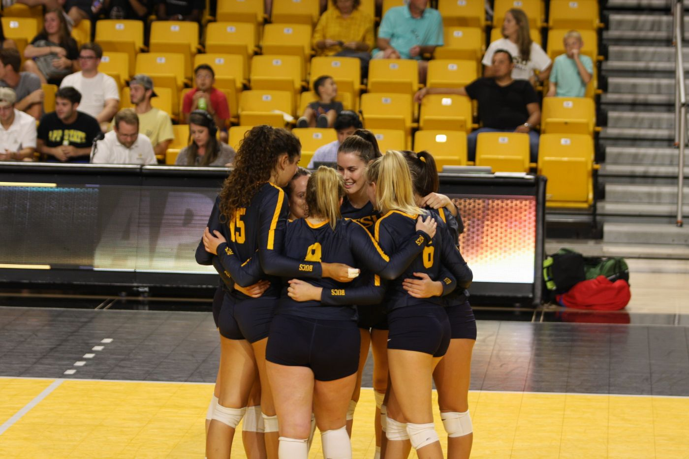 Volleyball Falls to Appalachian State in Five-Set Exhibition