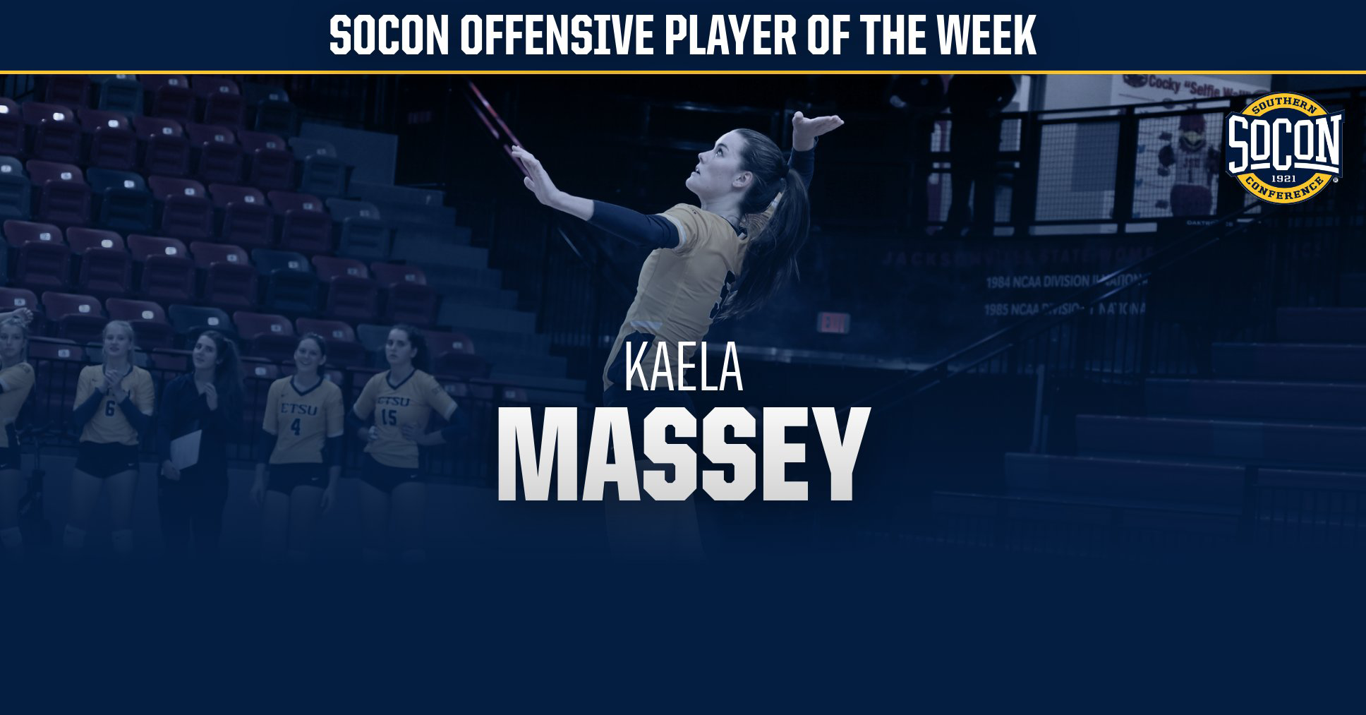 Massey Tabbed SoCon Offensive Player of the Week