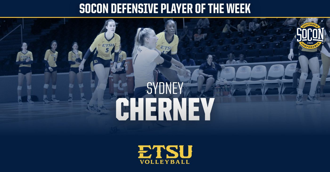 Cherney Tabbed SoCon Defensive Player of the Week