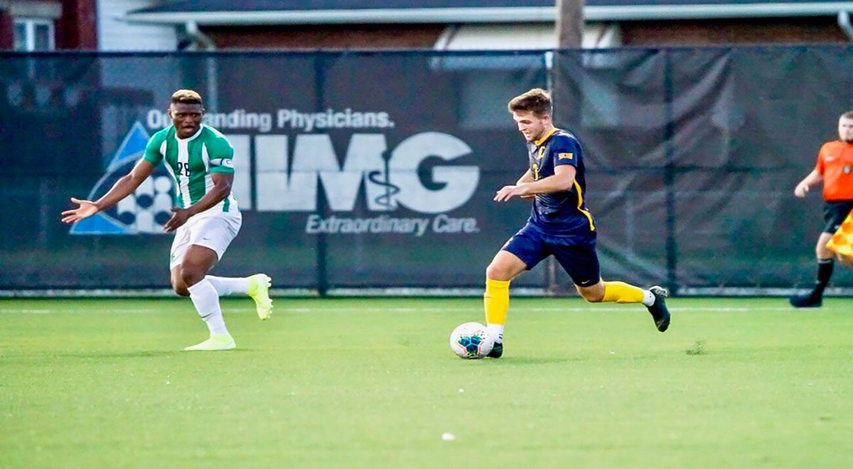 Bucs Fall In Narrow Contest to Marshall, 2-1