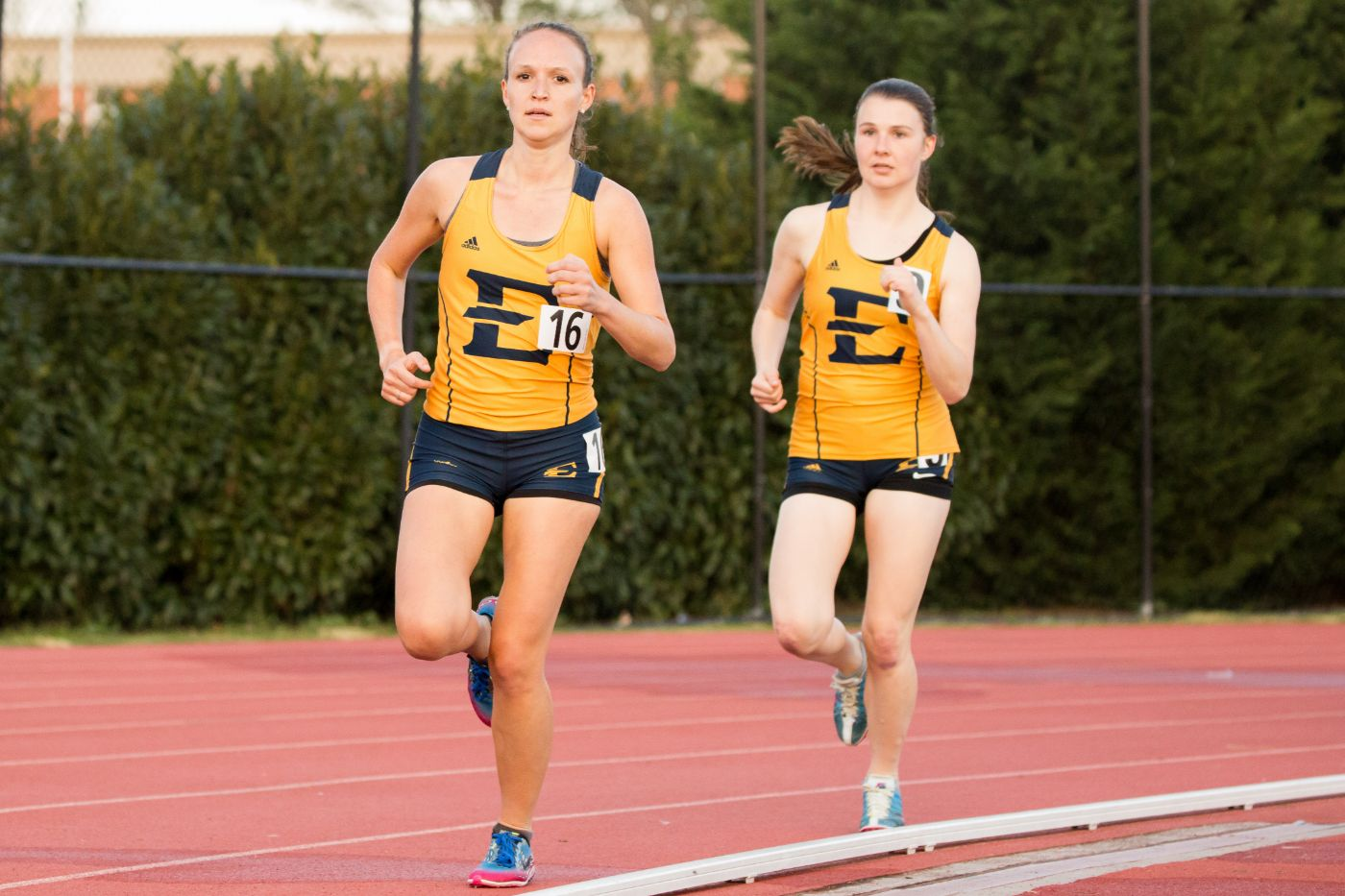 Bucs shatter personal records in split meets
