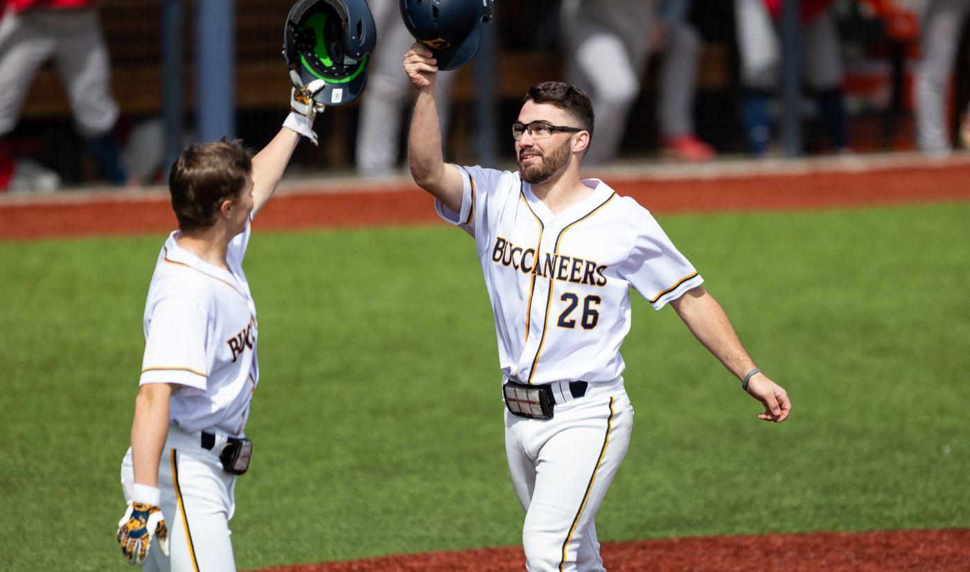 Baseball downs Highlanders in Saturday twinbill