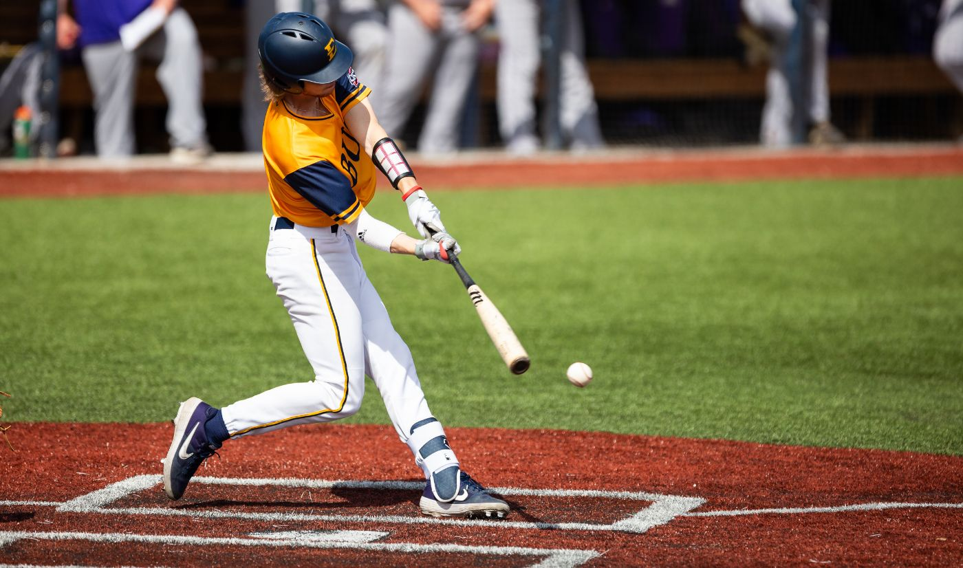 Bucs sweep Catamounts in first conference series